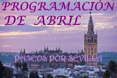Programación de Paseos por Sevilla (abril 2016)