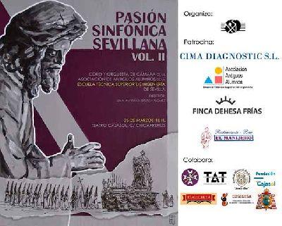 Cartel del concierto Pasión Sinfónica Sevilla Vol. II