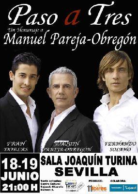 Concierto: Paso a tres en la sala Joaquín Turina de Sevilla