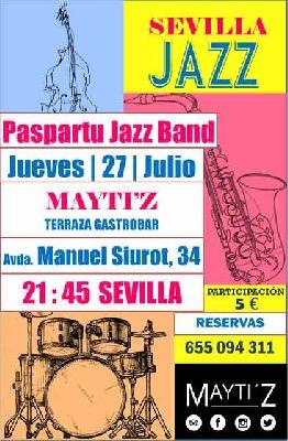 Concierto: Paspartú Jazz Band en Mayti'z Sevilla