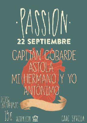 Conciertos: Passion Festival en el CAAC Sevilla 2018