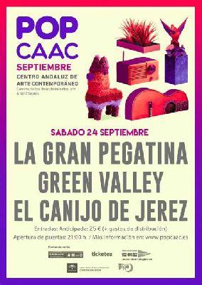 Concierto: La Gran Pegatina, Green Valley y Canijo de Jerez en Pop CAAC Sevilla