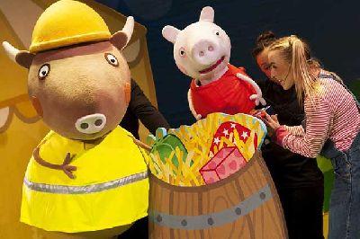 Peppa Pig Big Splash en Fibes Sevilla