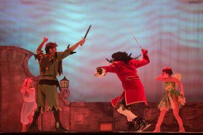Peter Pan on ice en Fibes Sevilla