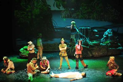 Musical: Peter Pan en el Cartuja Center de Sevilla 2018