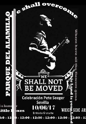 Concierto: Homenaje a Pete Seeger en el parque del Alamillo Sevilla (junio 2017)