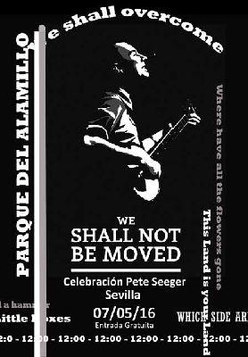 Concierto: Homenaje a Pete Seeger en el parque del Alamillo de Sevilla