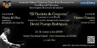 Concierto: El Pianista de Coupvray en Cajasol Sevilla
