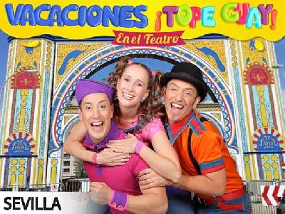 Cartel de la actuación del grupo infantil Pica Pica en Sevilla