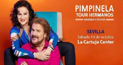 Concierto: Pimpinela en el Cartuja Center de Sevilla 2018