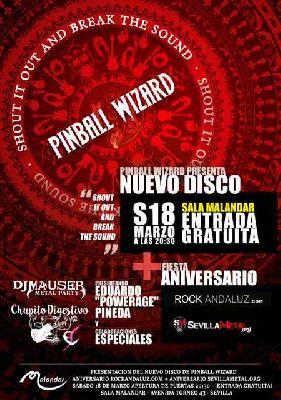 Concierto: Pinball Wizard en Malandar Sevilla 2017