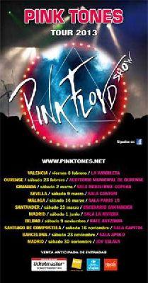 Concierto: Pink Tones Beyond The Wall Tour 2013 en Custom Sevilla