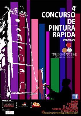 Concurso de pintura rápida en el parque de los Perdigones Sevilla