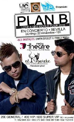 Concierto: Plan B en New Theatre Sevilla