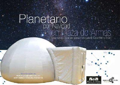Planetario en el Centro Comercial Plaza de Armas Sevilla
