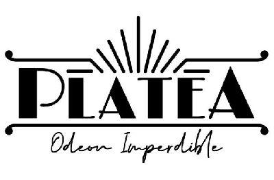 Logotipo de Platea Odeón Imperdible