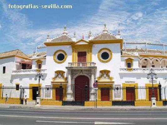 Fotografía de la Plaza de Toros de la Real Maestranza de Caballería de Sevilla