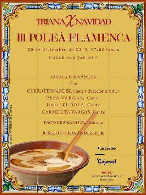 III Poleá Flamenca de Triana Sevilla