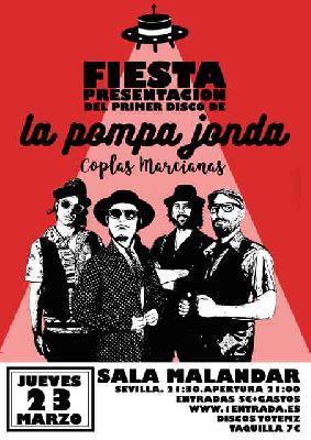 Concierto: La pompa Jonda en Malandar Sevilla (marzo 2017)