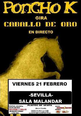 Concierto: Poncho K en la sala Malandar de Sevilla