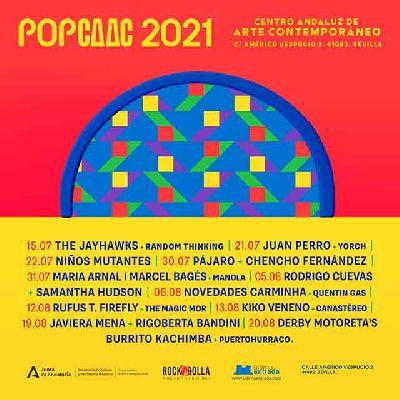 Cartel del ciclo Pop CAAC Sevilla 2021