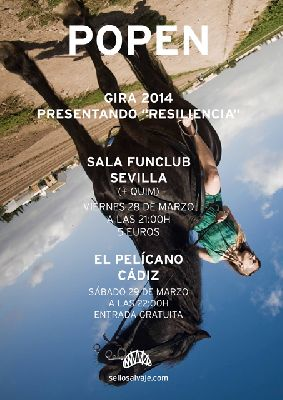 Concierto: Popen y Quim en la sala FunClub Sevilla