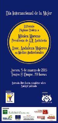 II Premio Páginas Violeta en La Imperdible de Sevilla 2015