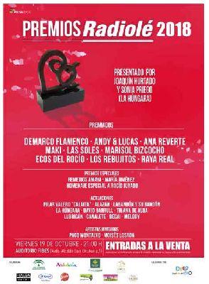 Gala Premios Radiolé en Fibes Sevilla 2018