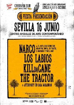 Concierto: presentación del Festival Caravan Sur 2018 en el CAAC de Sevilla