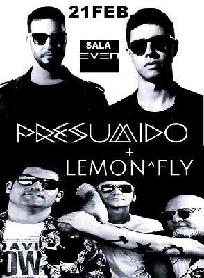 Cartel del concierto de Presumido y Lemon^Fly en la Sala Even Sevilla 2020