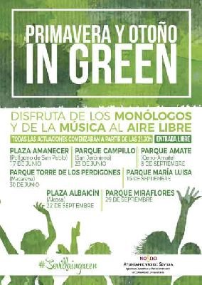 Conciertos: Primavera y Otoño in Green en Sevilla 2017