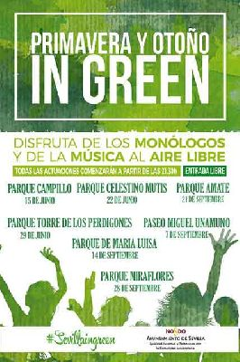 Conciertos: Primavera y Otoño in Green en Sevilla 2018