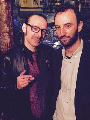 Foto promocional de Profesor Ruina y el Maestro Arregui