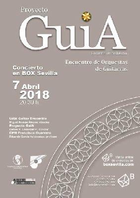 Concierto: Proyecto GuiA en Espacio Box Sevilla 2018