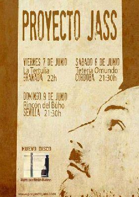 Concierto: Proyecto Jass en el Rincón del Búho Sevilla