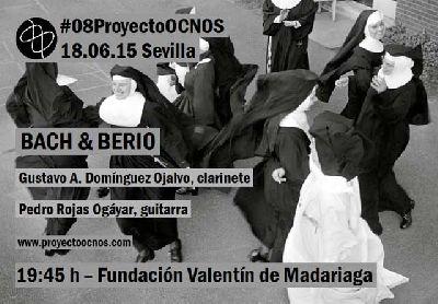 Concierto: Bach y Berio con Proyecto Ocnos en Madariaga Sevilla