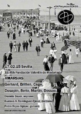 Concierto: Marsias del ciclo Proyecto Ocnos en Madariaga Sevilla