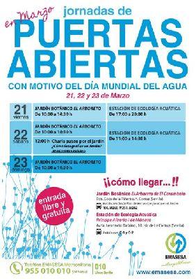 Jornadas de puertas abiertas por el Día del Agua en Emasesa