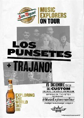 Concierto: Los Punsetes y Trajano! en Custom Sevilla 2017