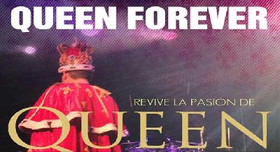 Foto promocional del grupo Queen Forever, tributo a Queen