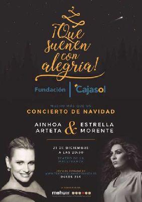 Concierto: Ainhoa Arteta y Estrella Morente en el Maestranza de Sevilla
