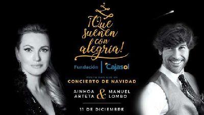 Concierto: Ainhoa Arteta y Manuel Lombo en el Cartuja Center de Sevilla