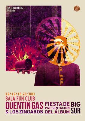 Concierto: Quentin Gas y Los Zíngaros en FunClub Sevilla