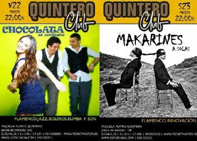Concierto: Chocolata y Makarines en el Quintero Club Sevilla
