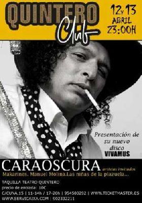 Concierto: Caraoscura en el Quintero Club de Sevilla