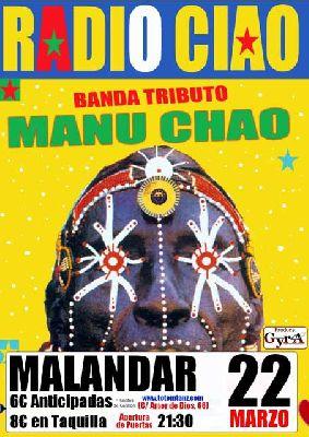 Concierto: Radio Ciao en la sala Malandar de Sevilla