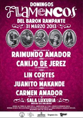 Concierto benéfico con Raimundo Amador en Sevilla (Luxuria)