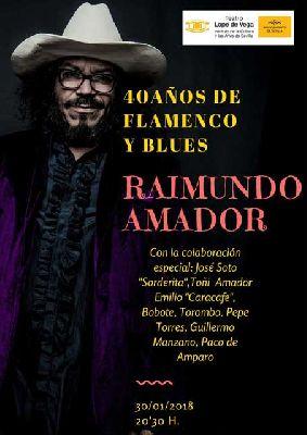 Concierto: Raimundo Amador en el Teatro Lope de Vega de Sevilla