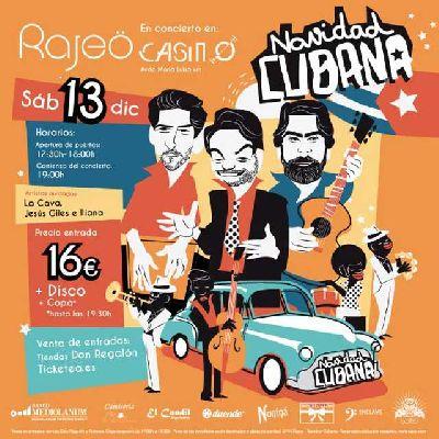 Concierto: Rajeö presenta Navidad cubana en Casino de la Exposición Sevilla