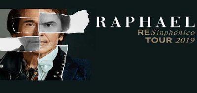 Cartel de la gira RESinphónico Tour 2019 de Raphael